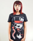 Akumu Ink Goth Gothic Alt A Delectable Tea Party Tshirt Tee Print Mad Hatter
