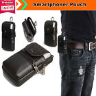 Genuine Leather Belt Clip Pouch Case Cover for Samsung Galaxy S7 Edge Phone Bag