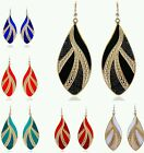Stunning Boho drop chandelier earrings in different colours