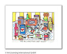 James Rizzi - We all had fun last night - Original 3D Bild drucksigniert
