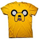 Adventure Time Jake Face T-shirt Halloween costume cartoon Fan Men Shirt S-3XL