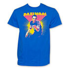 The Big Bang Theory T-shirt Sheldon Neon Bazinga Funny Shirts S-2XL