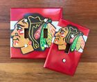 Chicago Blackhawks light switch plate cover // Hockey Fans Man Cave FAST SHIP! $9.99 USD on eBay