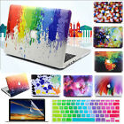 """3in1 Colorful Painting Matte Hard Case Shell for MacBook 12"""" Air Pro 11"""" 13""""15"""""""