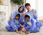 Blue Stitch Cosplay Costume Unisex Adult Animal Onesie Kigurumi Pajamas Suit