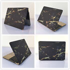 "Black Marble #11 Matte Hard Case Cover for MacBook 12"" Air Pro 11""13""15""Retina"