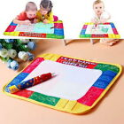 Kids Water Writing Painting Drawing Mat Board Magic Pen Doodle Toy Xmas Gift FS