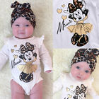 Mickey Mouse Toddler Baby Girls Infant Romper Jumpsuit Bodysuit Clothes Outfit