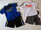 NWT Puma Baby Boy's 2 Piece Athletic Set Shorts & Shirt Top Toddler's 2T $42