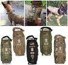 TACTICAL DOG VEST HARNESS K9 MOLLE ARMY HUNTING TRAINING MILITARY PATCH PANEL