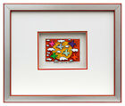 James Rizzi - Birds Love The Sun - Original 3D Bild drucksigniert