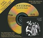 FACTORY SEALED AUDIO FIDELITY GOLD CD - # 1996 - ALICE COOPER - LOVE IT TO DEATH