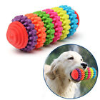 Colorful Rubber Pet Dog Puppy Dental Teething Healthy Teeth Gums Chew Toy New