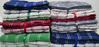 3 TEA TOWELS  of SUPREME QUALITY FINELY WOVEN TERRY TOWELLING CHECKED CLOTHS