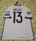Germany Muller #13 Home EURO 2016 Jersey Size: S M L