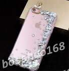 Glitter Luxury Bling Clear stones Diamonds Soft back Case Cover for Huawei