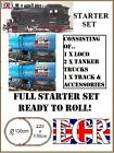 G SCALE 45mm GAUGE GARDEN RAILWAY TRAIN SET RC LOCO CARRIAGES COMPATIBLE LGB ETC