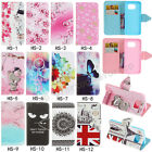 Fashion Magnetic Flip Pattern Hybrid Stand PU Leather Cover TPU Case For Phone S