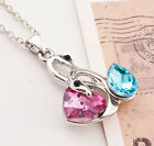 Sweater Crystal Necklace HOT NEW Animal Women Jewelry Long Chain  2016 Pendant
