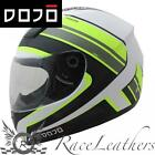 DOJO IMOLA OVERCOME MATT FLUO MOTORCYCLE MOTORBIKE BIKE SCOOTER HELMET CHEAP