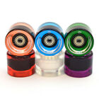 3Style® Skateboards - Parts - 59mm Set of 4 Clear Wheels with 7 ABEC Bearings