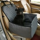 2 In 1 Pet Dog Front Car Seat Cover Basket Booster Thicken Protector Pet Carrier