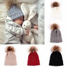 Внешний вид - New Toddler Kids Girl&Boy Baby Infant Winter Warm Crochet Knit Hat Beanie Cap