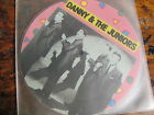 DANNY JUNIORS At the Hop 45 MAYBELLINE picture disc VG++ rock n roll