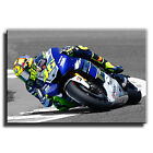CANVAS MOTORBIKE - Valentino Rossi 46 - yamaha - canvas print black and white 2