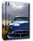 Classic Car Landscape ABSTRACT CANVAS Wall Art Print Picture
