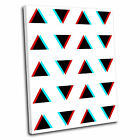 Geometric Triangle Abstract Canvas Wall Art Print Picture 18