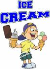 Ice Cream DECAL (CHOOSE YOUR SIZE) BBQ Food Sign Restaurant Vinyl