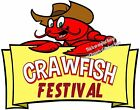 Crawfish Festival DECAL (CHOOSE YOUR SIZE) Seafood Food Truck Restaurant Vinyl