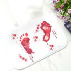 Halloween Gift Red Blood Bath Shower Mat Carpet Cushion Horrible Floor Area Rug