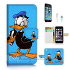 ( For iPhone 7 Plus ) Wallet Case Cover P2834 Cartoon