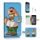 ( For iPhone 7 Plus ) Wallet Case Cover P2836 Cartoon
