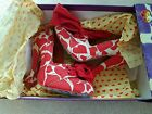 Irregular Choice Toodle Loo Bow Hearts size 4