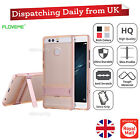 Huawei Ascend P9 Thin Shockproof Cover Hybrid Clear Combo Rubber Stand Case