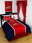 St Louis Cardinals Bed in a Bag Twin Full Queen King Size Comforter Set