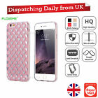 NEW Plating Heart Star Slim Thin Bling Cute Hardback Case Cover For iPhone 6 6s
