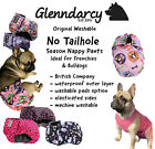 NO TAILHOLE FEMALE DOG SEASON PANTS / NAPPY / HEAT / URINE INCONTINENCE DIAPER