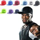 Fashion Men's Bboy Hip Hop Adjustable Baseball Snapback Hat Unisex Women's Cap