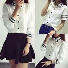 Women Lady White Casual Shirts Lapel Down Slim OL Formal Shirts Blouse Tops S-XL