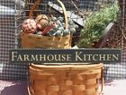 Primitive Farmhouse Kitchen handcrafted country sign