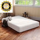 10 inch Full Size Memory Foam Mattress Medium, Medium Firm, Firm 2 Free Pillows