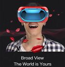 3D VR Virtual Reality All-in-One VR Glasses Andriod 5.1 Quad Core 3D White