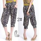 AU SELLER Soft Casual Hippie Short Harem Yoga Beach Cover pants SZ S-XXL P002-2