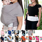 Baby Infant Carrier Breastfeed Birth Sling Cotton Backpacks Mother Wrap Stretchy