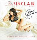 NEW!  Signed 2x Claire Sinclair 2017-18 18 Month Collectors Calendar/Lithographs
