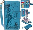 Luxury Wallet Card Holder Leather Flip Mirror Case Cover For iPhone 7 Plus 6 5S